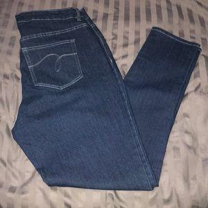 Avenue Denim Skinny Jeans